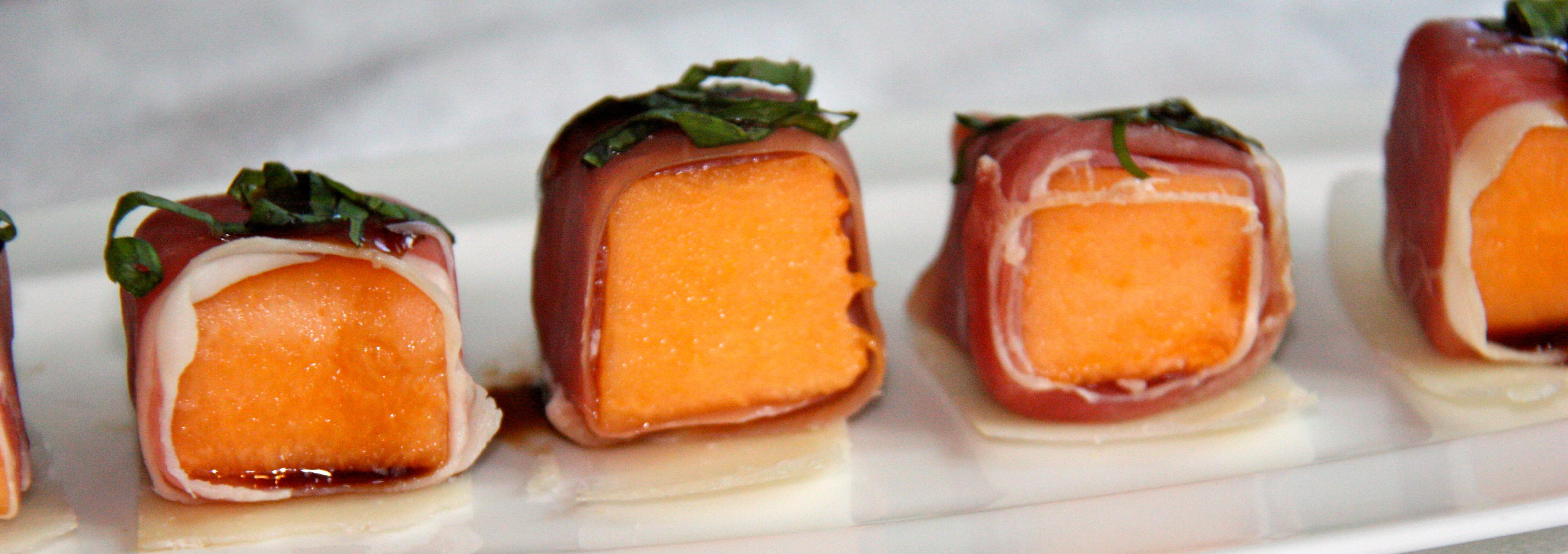 Melon & Prosciutto Bites