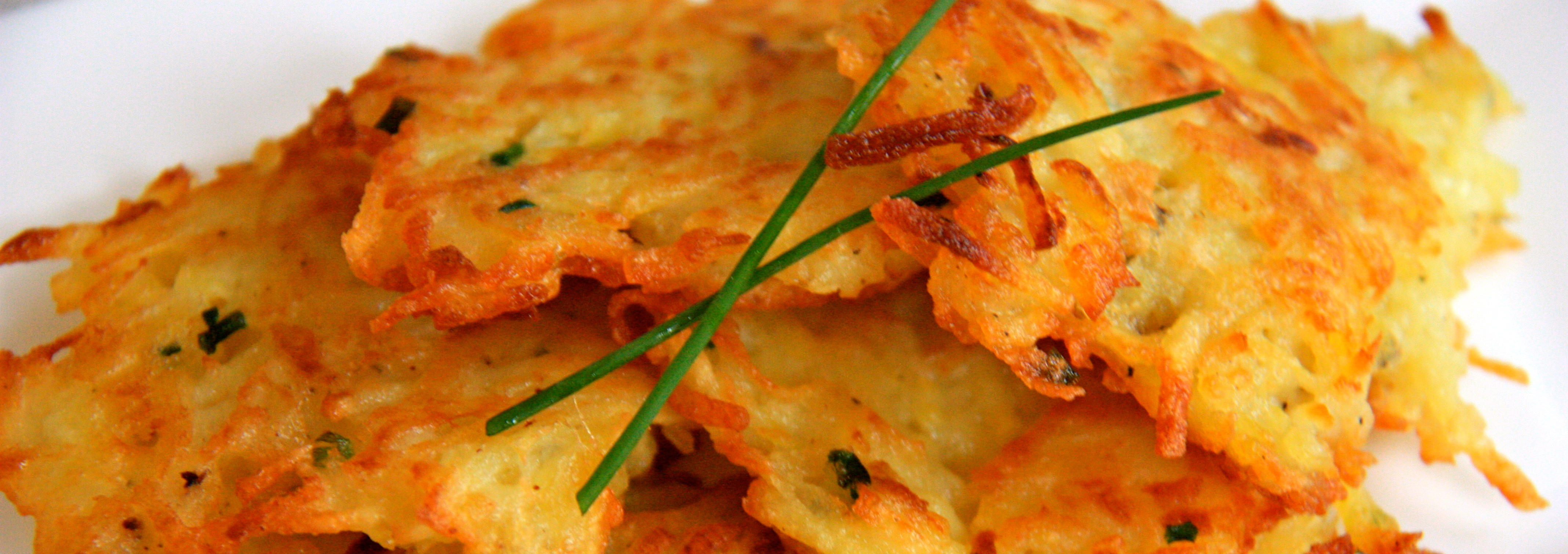 potato chive pancake pin it mini potato pancakes potato chive pancake ...