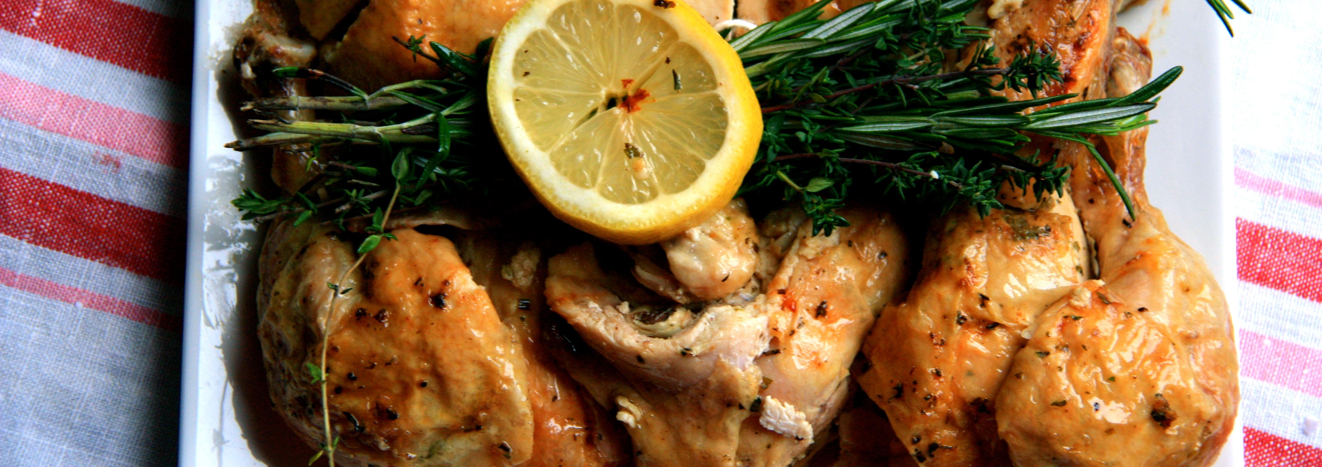 Herb and Lemon Roast Chicken