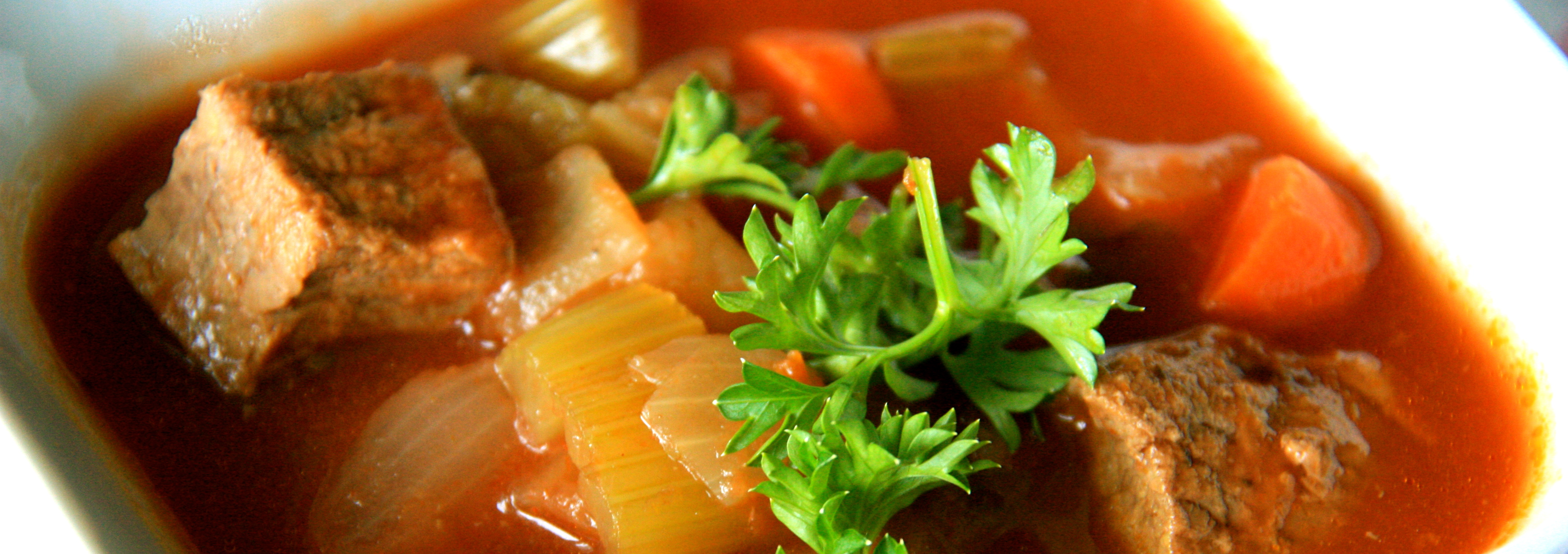 Rustic Beef Vegetable Soup