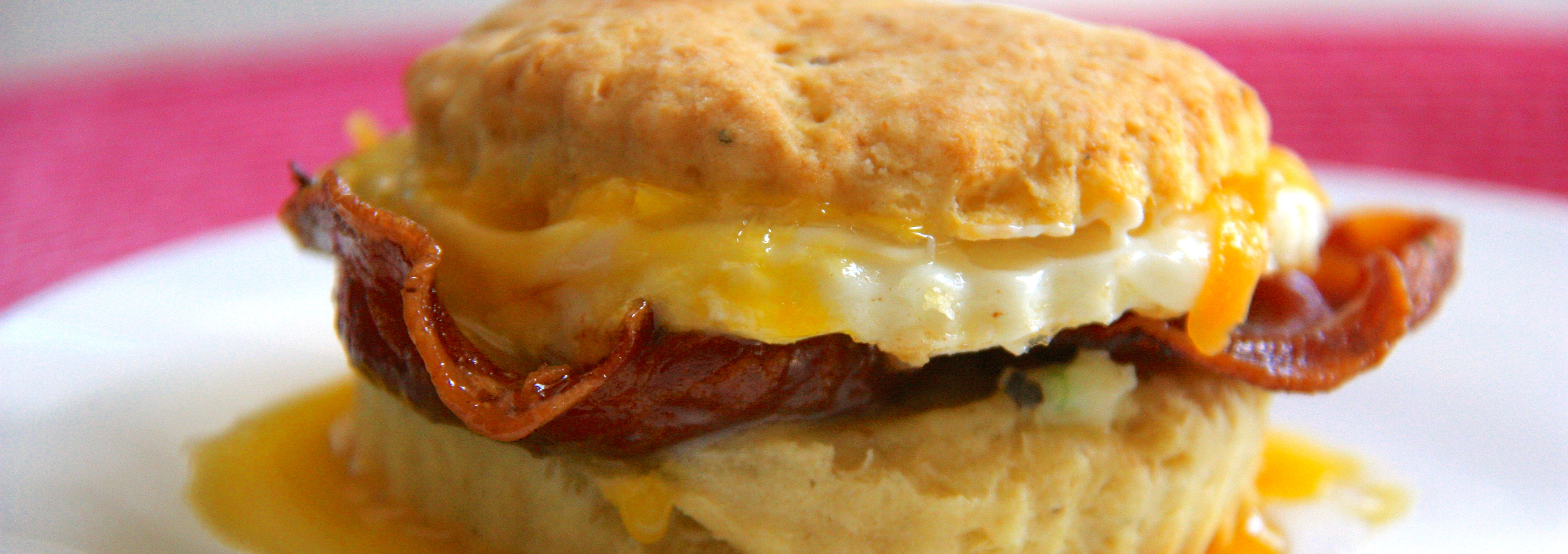 The Garlic Pad Breakfast Sandwich