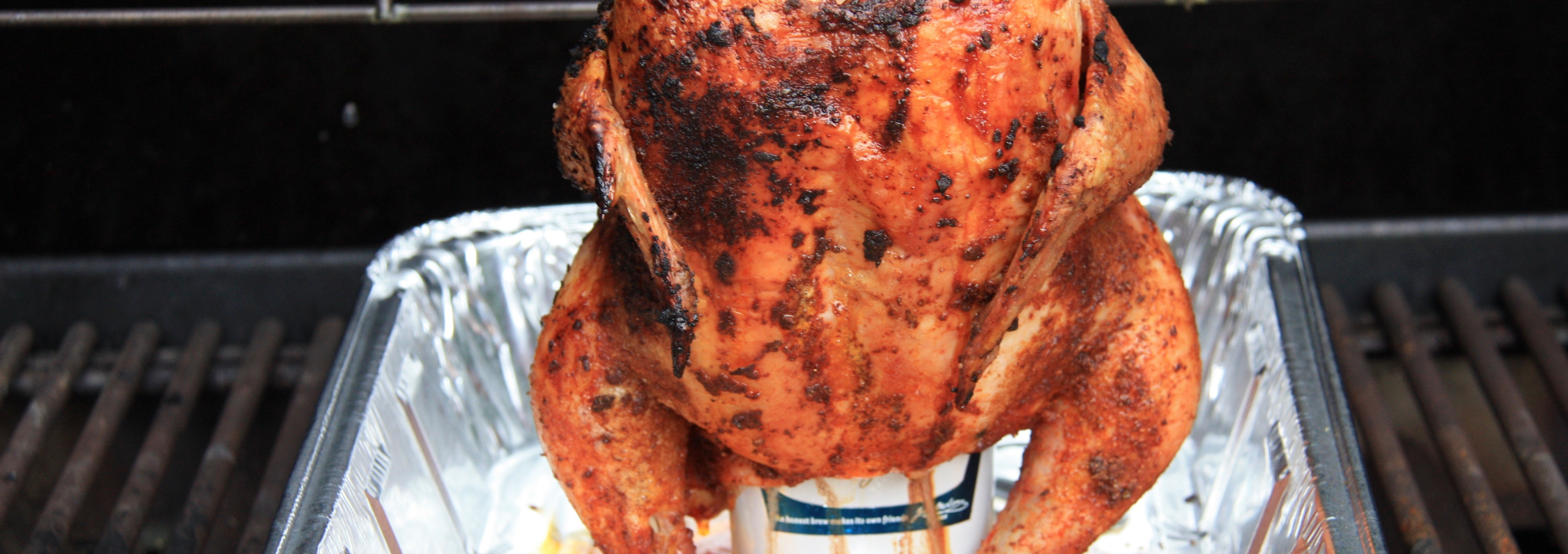 Beer Can BBQ Chicken