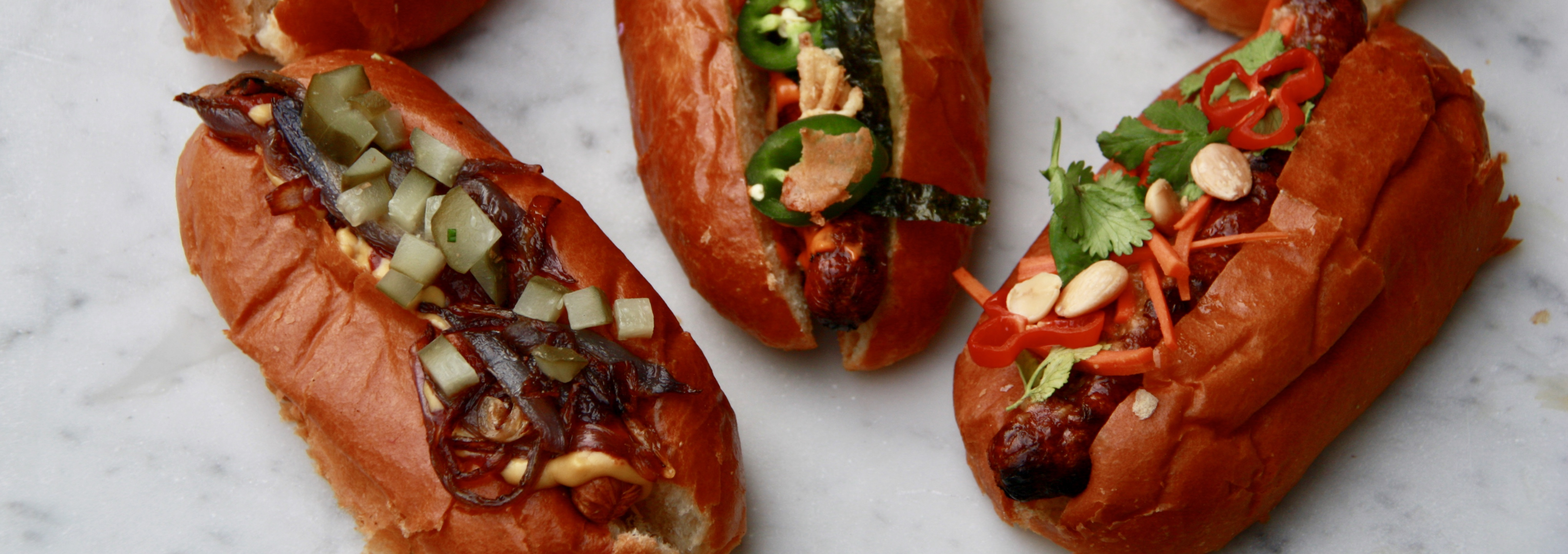 Ultimate Hot Dog Toppings