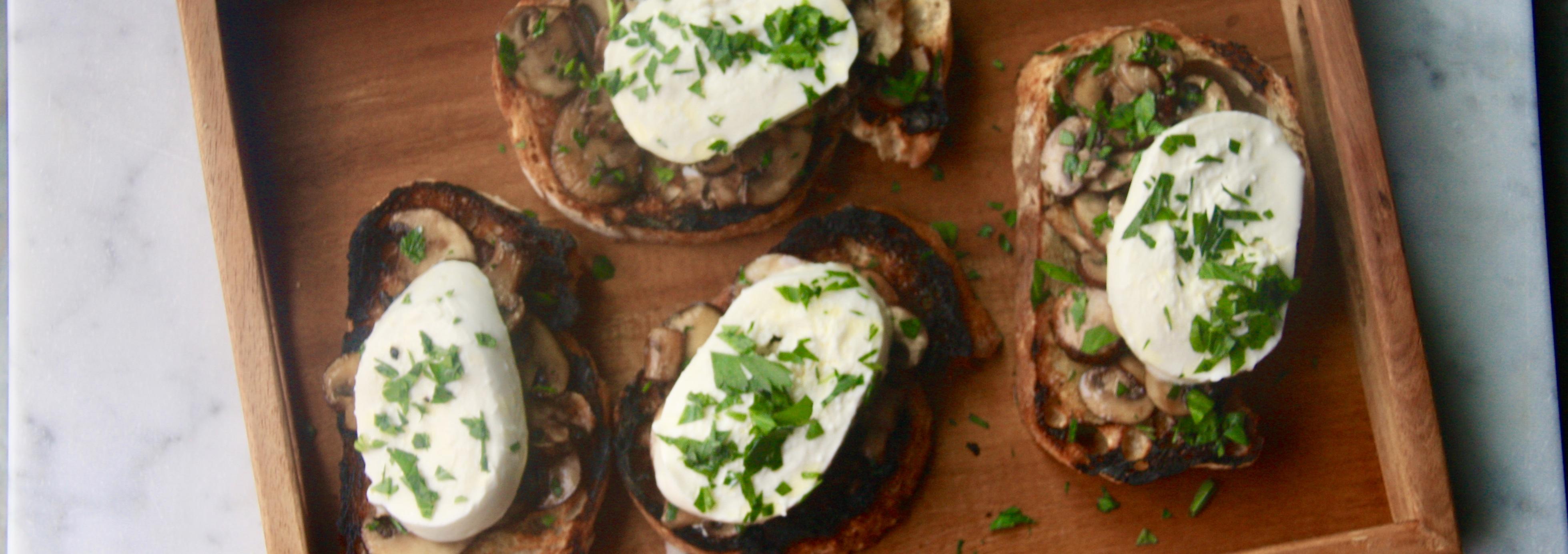 Mushroom Toasts